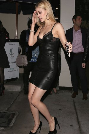 Nicola Peltz enjoyed a night out with friends at Catch LA