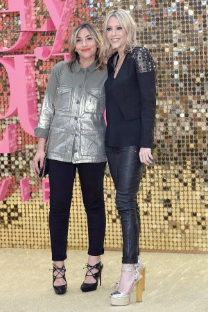 Nicole Appleton attends the party of Absolutely Fabulous The Movie