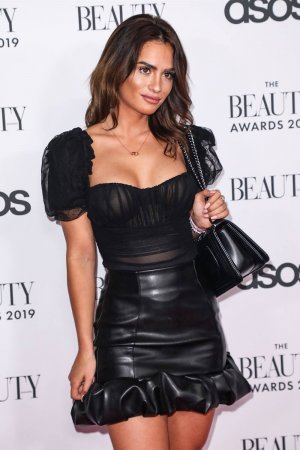 Nicole Bass attends The Beauty Awards 2019 with ASOS
