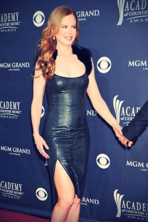 Nicole Kidman arrives at the 46th Annual Academy Of Country Music Awards