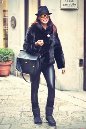 Nicole Minetti out and about in Milan on 21 Jan 2013