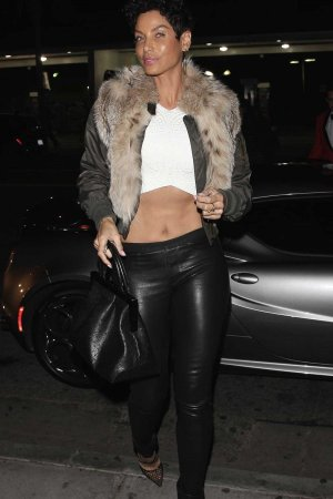 Nicole Murphy at Delilah club in West Hollywood