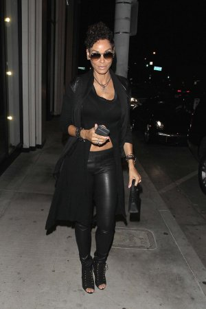 Nicole Murphy out in West Hollywood