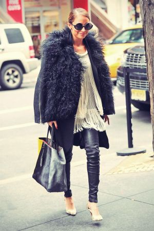 Nicole Richie out in NYC