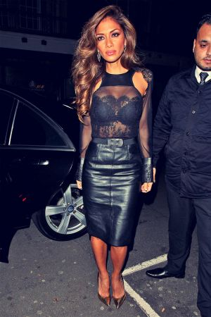 Nicole Scherzinger at C restaurant in London