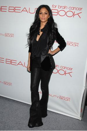 Nicole Scherzinger at launch of the Beauty Book For Brain Cancer in Hollywood