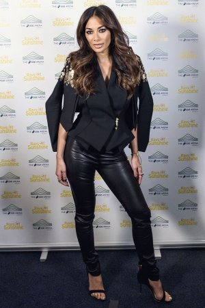 Nicole Scherzinger at the Ray of Sunshine concert
