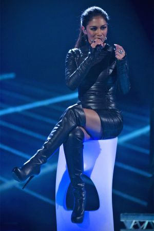 Nicole Scherzinger at The X Factor Final