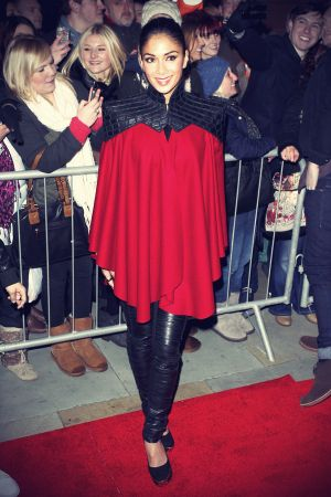 Nicole Scherzinger at X Factor UK press conference