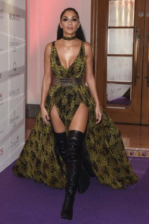 Nicole Scherzinger attends The Global Gift Gala Corinthia Hotel London