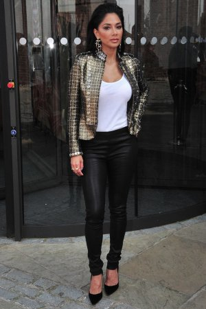 Nicole Scherzinger attends X Factor Auditions