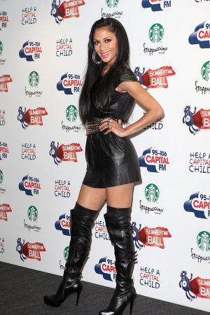 Nicole Scherzinger Capital FM Summertime Ball 2011 Red Carpet