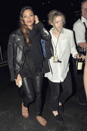 Nicole Scherzinger heading to her hotel in Dublin