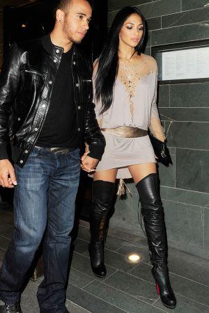 Nicole Scherzinger leave Hakkasan Mayfair London