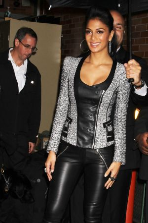 Nicole Scherzinger leaving ABC Studios in New York City