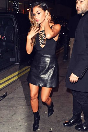Nicole Scherzinger leaving Drama Night Club