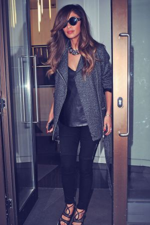 Nicole Scherzinger leaving Sony Studios