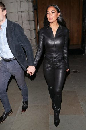 Nicole Scherzinger out for dinner