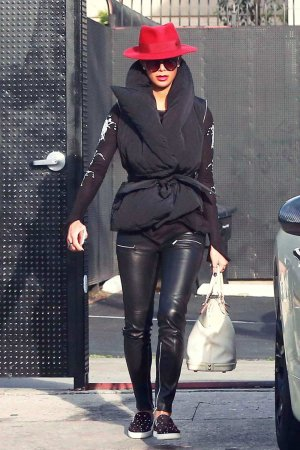 Nicole Scherzinger out in Los Angeles