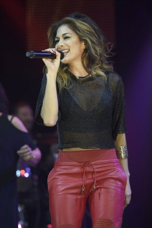 Nicole Scherzinger performs at Key 103 Christmas Live