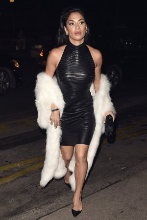 Nicole Scherzinger seen out and about in Paris