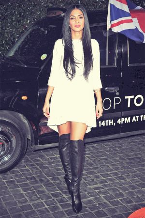 Nicole Scherzinger Tommy Hilfiger New West Coast Flagship Opening After Party