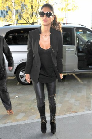 Nicole Scherzinger was spotted at BBC studios