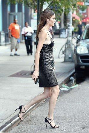 Nicole Trunfio attends E! IMG New York Fashion Week Kick-Off