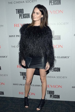 Nicole Trunfio attends The Cinema Society & Revlon screening