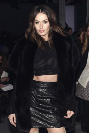 Nicole Trunfio attends the Wes Gordon fashion show
