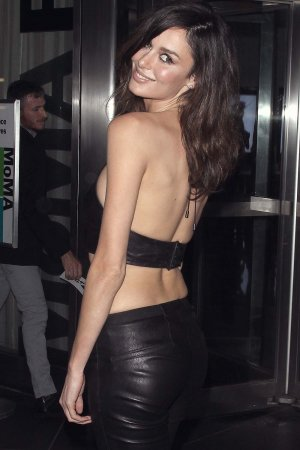 Nicole Trunfio attends the Yves Saint Laurent Couture Palette & The Cinema Society premiere
