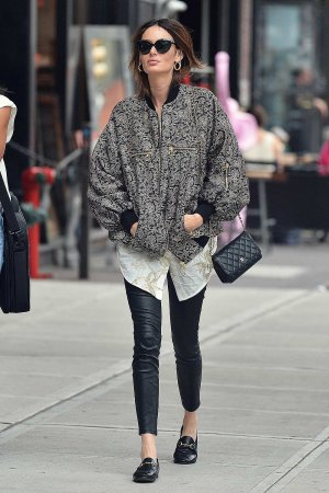 Nicole Trunfio is spotted out in New York City
