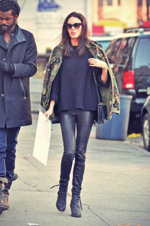 Nicole Trunfio out in Soho in NYC