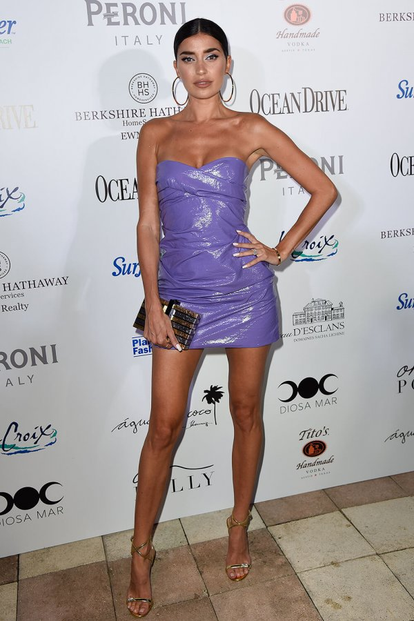 Nicole Williams attends Ocean Drive Magazine kicks off Miami Swim Week