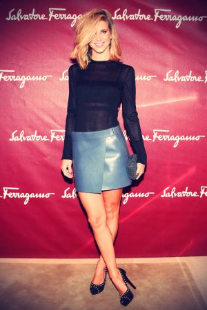 Nicoletta Romanoff attends the Salvatore Ferragamo Boutique Opening