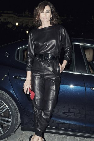Nieves Alvarez attends the premiere of 'La bohème'