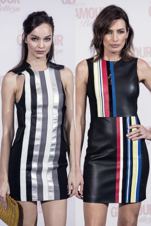 Nieves Alvarez & Luma Grothe attend the Glamour Beauty Awards