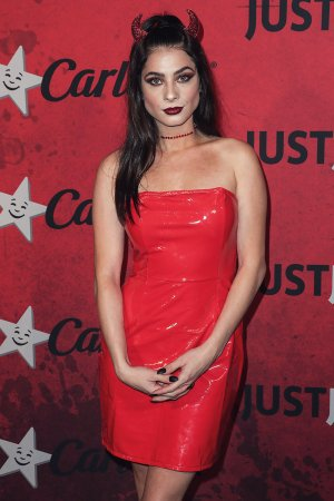 Niki Koss attends Just Jared's 7th Annual Halloween Party