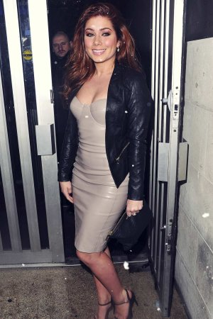 Nikki Sanderson at Kieron Richardsons Birthday in UK