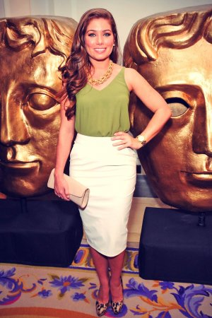 Nikki Sanderson attends The 2015 BAFTA Nominees Party