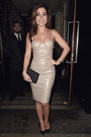 Nikki Sanderson night out at The Living Room