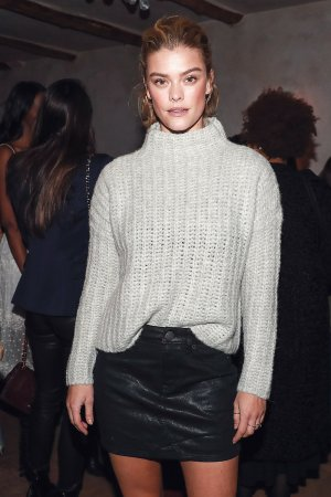 Nina Agdal attends AerieREAL Role Models dinner party