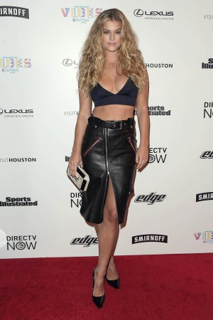 Nina Agdal attends VIBES By Sports Illustrated Swimsuit 2017 Launch Festival