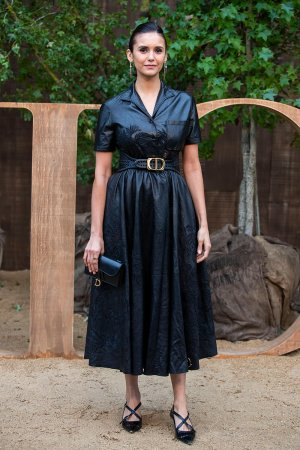 Nina Dobrev attends Christian Dior Womenswear Spring/Summer 2020 show