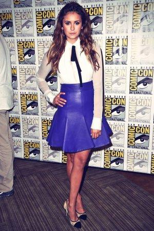 Nina Dobrev attends Comic-Con 2014