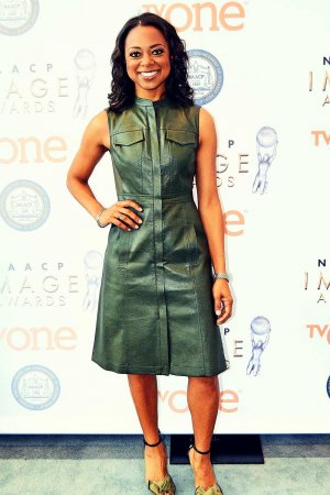 Nischelle Turner attends 47th NAACP Image Awards Nominations Press Conference