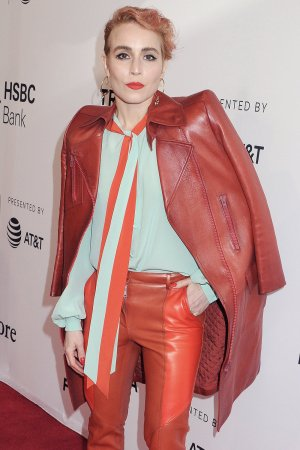 Noomi Rapace attends Stockholm film premiere