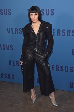 Noomi Rapace attends the VERSUS show