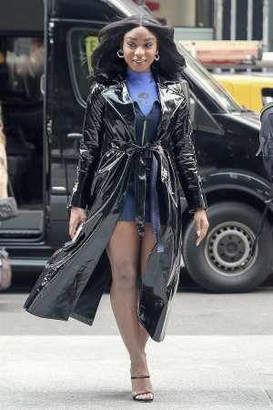 Normani Kordei out & about in New York