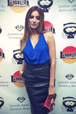 Noureen DeWulf attends the opening night of Comedy Ninja Film Festival